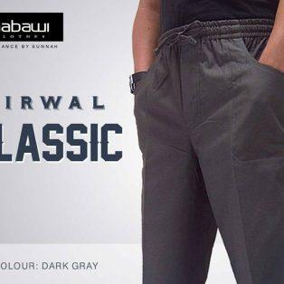 Celana Sirwal Nabawi Untuk Muslim Abu-Abu
