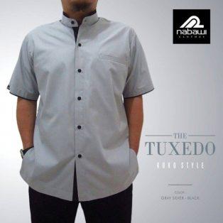 Baju Muslim Pria Trendi THE TUXEDO Series Abu-abu M-3XL