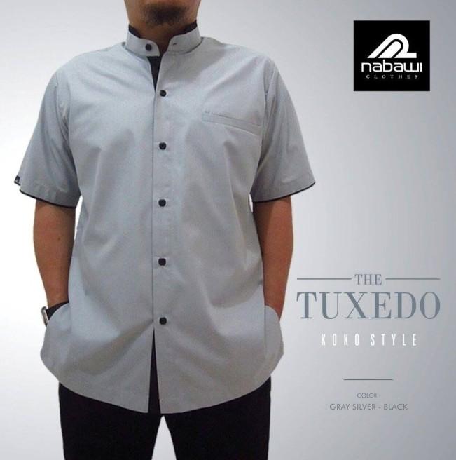 Baju Muslim Pria Trendi The Tuxedo Series Abu Abu M 3xl